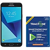 TracFone Samsung Galaxy J7 Sky Pro 4G LTE Prepaid Smartphone with Amazon Exclusive Free 40 Airtime Bundle