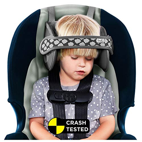 NapUp Child Head Support for Car Seat (Grey)