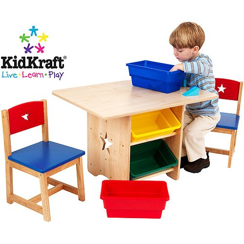 KidKraft - Star Table and Chair Set by KidKraft