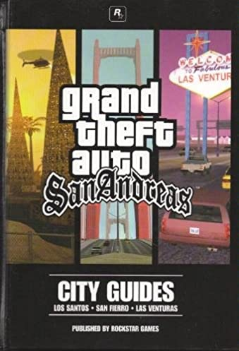 grand theft auto san andreas city guides with cd game amazon com rh amazon com san andreas guide mission gta san andreas guide