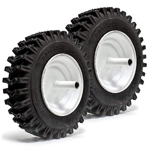 (2PK 4.80x8 Carlisle X-Trac 2PR Lawn Mower & Tractor Tire Rim Assembly SnowThrower)
