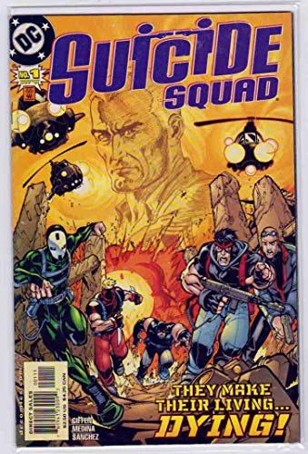Suicide Squad #1 (2001) - Paco Medina Cover