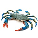 #6: HUELE 2pcs Plastic Crab Sea Life Creature Decoration