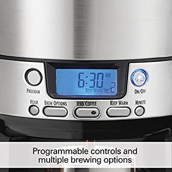 Hamilton Beach 12-cup Coffee Maker, Programmable Brewstation Dispensing Coffee Machine (47900) 3