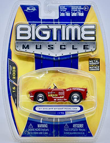 2008 - Bigtime Muscle - 1967 Shelby GT-500 Pedal Car #170 - Wave 16-1:64 Scale Die Cast - Collectible