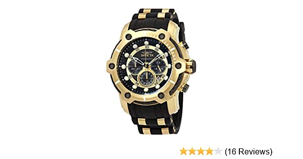 Amazon.com: Invicta Mens 26751 Bolt Quartz Chronograph Black Dial Watch: Watches
