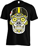 America's Finest Apparel Pittsburgh Sugar Skull Shirt - Men's (XL)