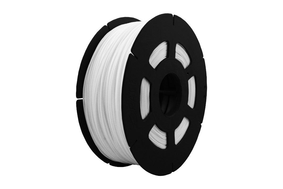 3D Drucker 1kg Filament Rolle PLA 1,75mm in Perlweiß (B-Ware)