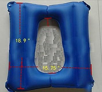 Amazon.com: Cojín de cojines, ancianos hinchable colchón ...