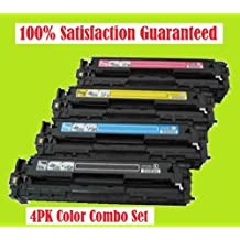 TONER4U ® 4PK New Compatible CRG118 Toner Cartridges Combo Set FOR CANON 118 2662B001AA Black 2661B001AA Cyan 2660B001AA Magenta 2659B001AA Yellow with Canon ImageClass LBP7200Cdn, LBP7660Cdn, MF8350cdn, MF8380Cdw