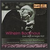 BEETHOVEN: Piano Sonatas Nos. 14, ''Moonlight'', and 29, ''Hammerklavier'' (Backhaus) (1956)