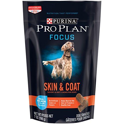 Purina Pro Plan FOCUS Skin & Coat with Real Salmon Soft Chews Dry Dog Snacks - (1) 7 oz. (Training Snacks)