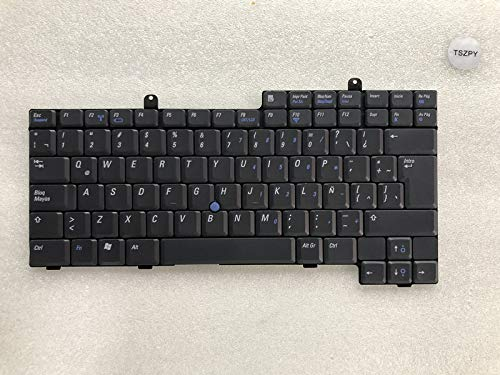 New for DELL Latitude D500 D505 D600 D800 Spanish Black Keyboard