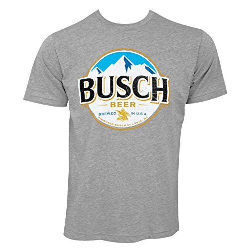 busch-round-logo-tee-shirt-large