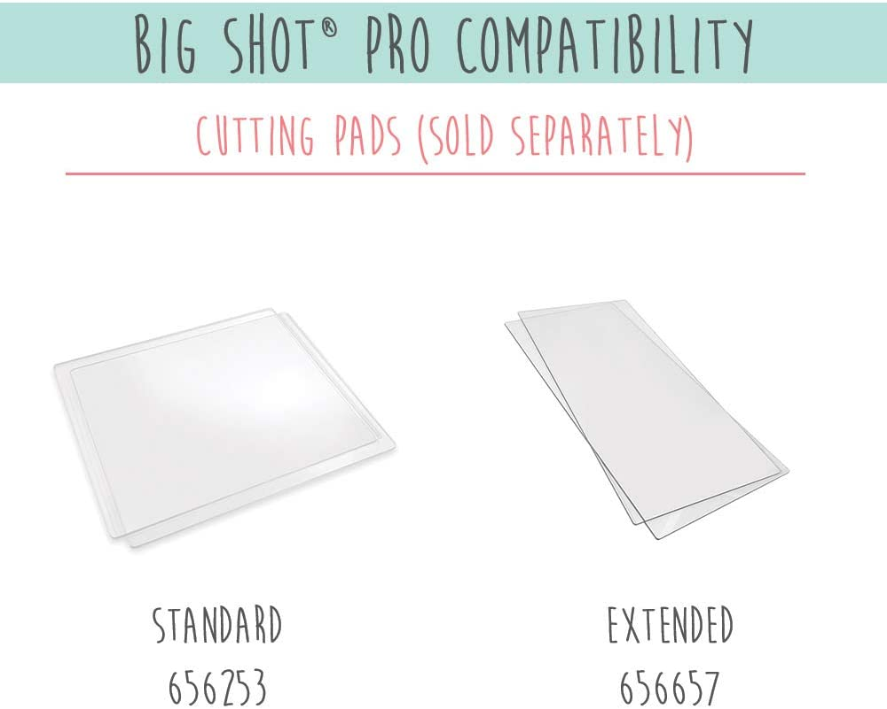 Sizzix Big Shot Pro Zubehör Set mit 2 Mylar Shim Standard