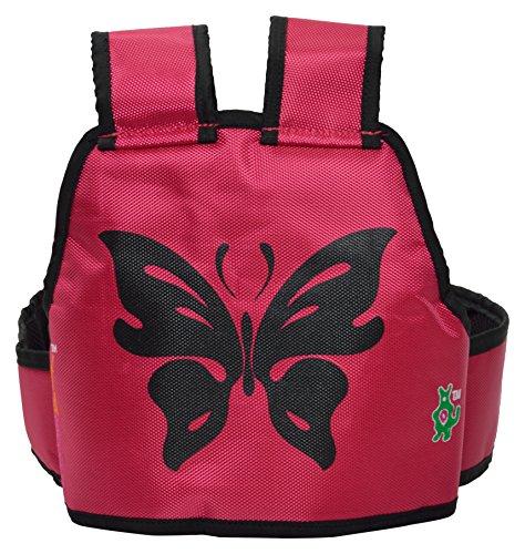 Kidsafe Belt - Two Wheeler Child Safety Belt - Cool Pink Butterfly by Kid-Safe (Image #3)