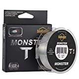 NaJi Fluorocarbon Fishing Line 100% Pure Fluorocarbon Coated 100m/110yds Monofilament Leader Sinking Line