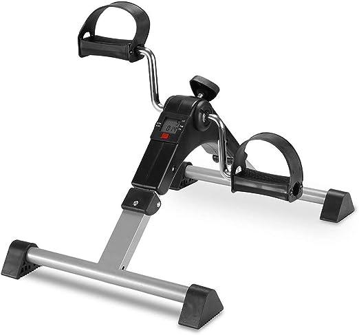 WXX Pedal Exerciser-Plegable portátil pie, Brazo, Bicicleta de ...