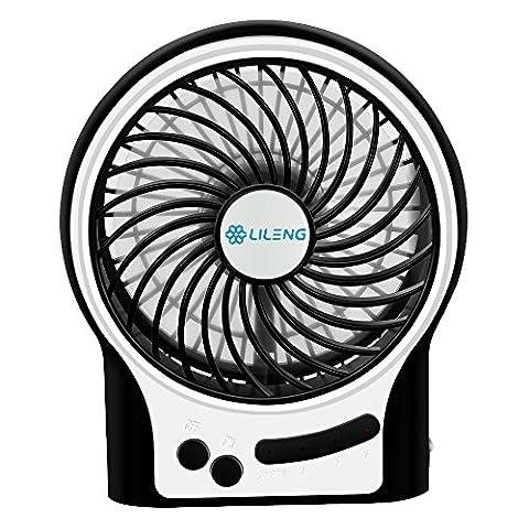 BENGOO Fan Portable USB Fan Mini Desktop Desk Table Electric Rechargeable Fan for laptop room office outdoor - Duracraft Fan