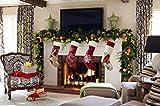 14 Karat Home Poinsettia Christmas Thick Velvet