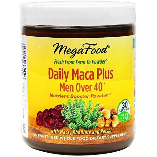 MegaFood Daily MACA Plus Men Over 40 Nutrient Boost Powder,