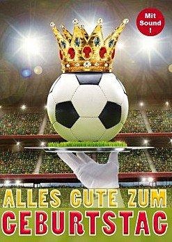 Geburtstagskarte Fussball Din A5 Mit Sound Amazon De Burobedarf