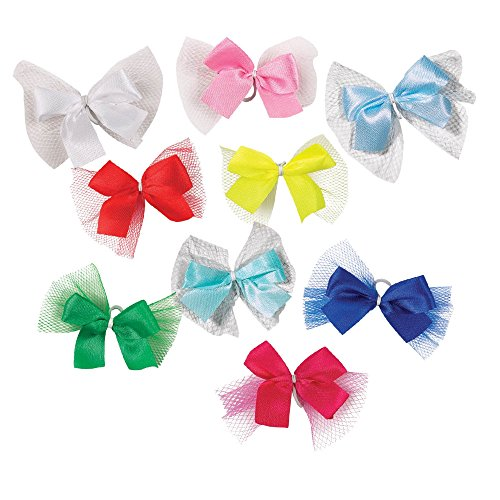Aria Ribbon with Tulle Bows for Dogs, 100-Piece Canisters by Aria (Image #1)