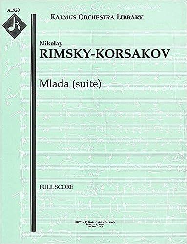 ((BEST)) Mlada (suite): Full Score [A1920]. edited clauses Rafael fotos Academic Support
