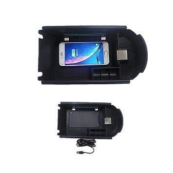 For Toyota C-HR CHR 2016-2018】Teléfono móvil Cargador ...