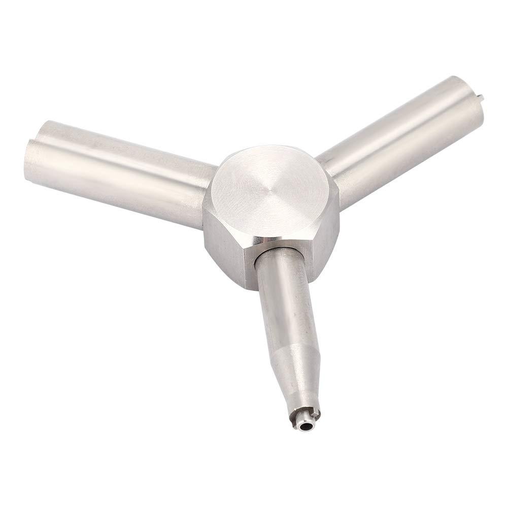 Llave de v/álvula llave de v/álvula de elemento compatible con la herramienta de extracci/ón de la v/álvula de carga de la revista Airsoft KSC WA GAS