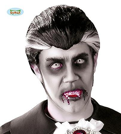 VAMPIRIA Parrucca Halloween Costume Accessorio Vampiro Dracula
