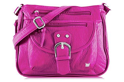 Purse King Pistol Concealed Carry Handbag (Hot Pink) (Best Pistol For Women's Purse)