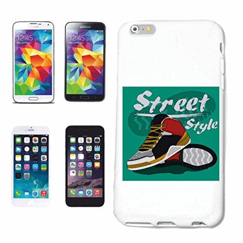 caja del teléfono iPhone 6+ Plus ESTILO DE LA CALLE zapatillas de deporte de los zapatos corrientes ACTIVAN EDUCACION FISICA DE LA MANERA DE VIDA STREETWEAR HIPHOP SALSA LEGENDARIO Caso duro de la c