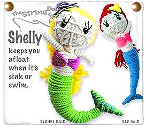 - Kamibashi Shelly the Mermaid Original String Doll Gang Keychain Toy