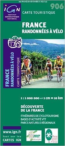 France randonnées a vélo: Amazon fr: Cartes séries 900: Livres