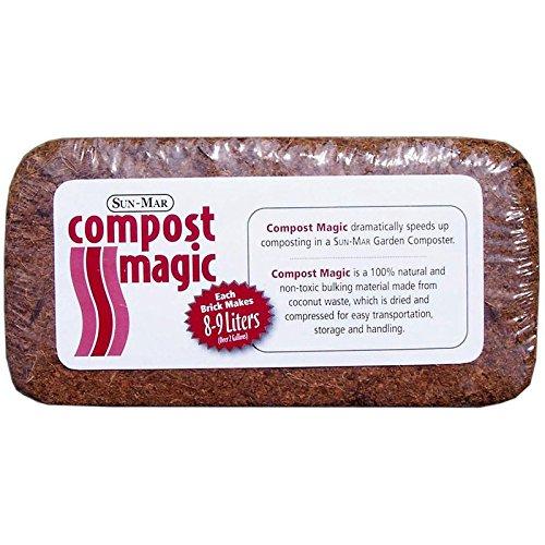 Sun Mar Compost (Compost Magic for Garden Composter)