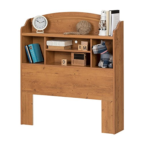 home, kitchen, furniture, bedroom furniture, beds, frames, bases, headboards, footboards,  headboards 12 discount South Shore Prairie Bookcase Headboard with Storage, Twin in USA