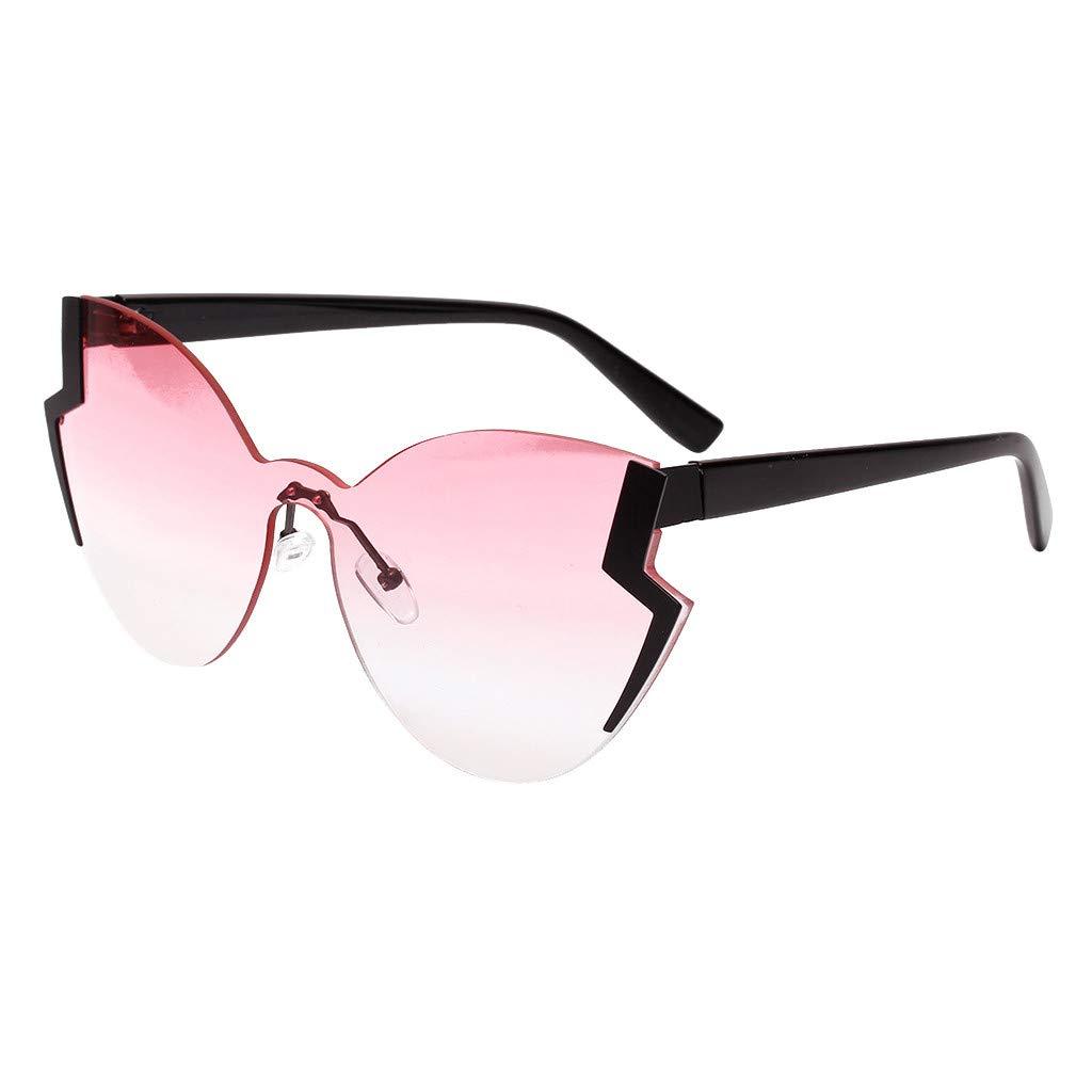 Gafas de Sol Mariposa Mujer Vintage PC Resistencia UV400 Protección de Radiación Moda Gafas de Sol de Ojos Holatee Holatee-7010