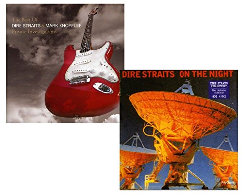 Private Investigations (Best Of) - On The Night (Live) - Dire Straits & Mark Knopfler Greatest Hits 2 CD Album Bundling