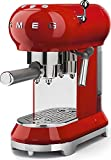 Smeg Espresso Machine Red ECF01 RDUS