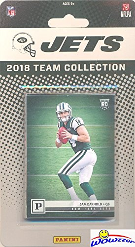 - New York Jets 2018 Panini NFL Football Factory Sealed Limited Edition 10 Card Complete Team Set with CANVAS Rookie of SAM Darnold & Leonard Williams, Bilal Powell, Teddy Bridgewater & More! WOWZZER!