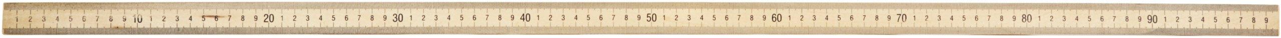 hand2mind Wood, Double-Sided, Meterstick/Yardstick Bulk Set (Pack of 12)