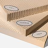 """100% Natural Latex Mattress Topper - Firm - 3"""" Twin"""