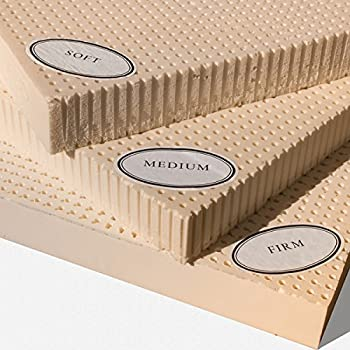Amazon.com: 100% Natural Latex Mattress Topper - Medium - 2