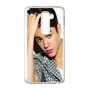 Nmco Justin-Bieber LG G2 Cell Phone Case White