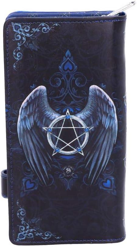 Nemesis Now Raven Portefeuille en Relief Bleu 18,5 cm Taille Unique