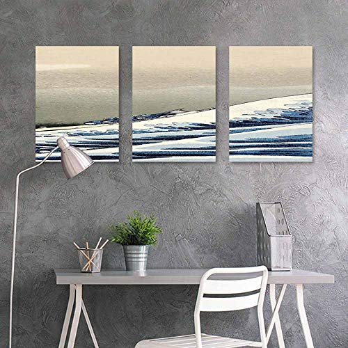 BDDLS Sticker for Decoration,Ripple Water Wave for Home Decoration Wall Decor 3 Panels,16x24inchx3pcs (Ripple Wave Board)