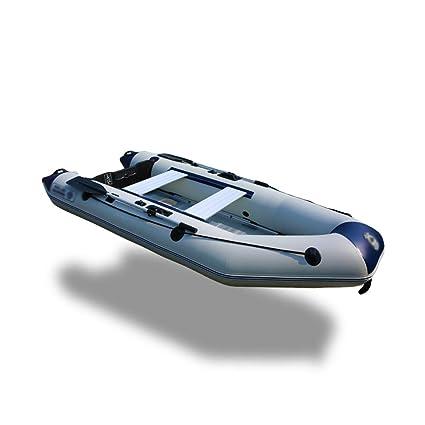 LIDAUTO Barco Inflable Profesional Barco de Pesca Barco ...