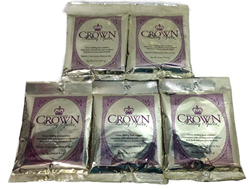 Crown Instant Gourmet Mulling Spices 6oz (5 Pack) by Crown Mulling Spices
