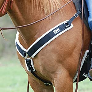 Cashel Nylon Fleece Lined Straight Breast Collar